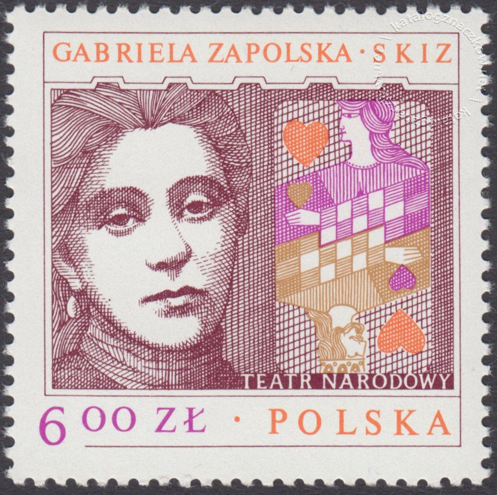 Arcydzieła dramaturgii polskiej znaczek nr 2449