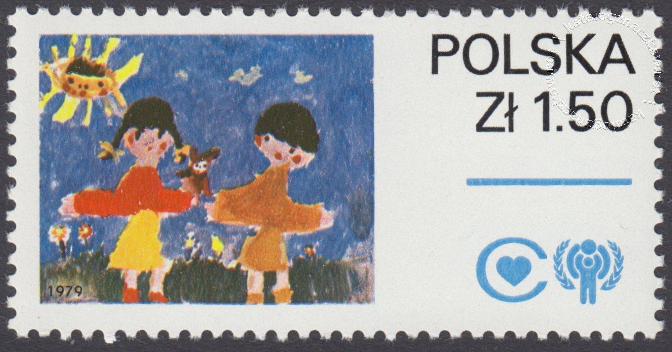 Międzynarodowy Rok Dziecka znaczek nr 2458