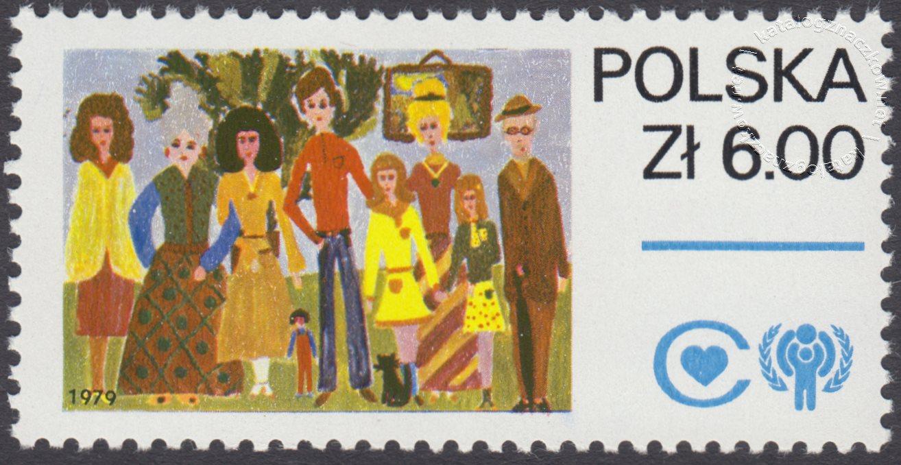 Międzynarodowy Rok Dziecka znaczek nr 2459