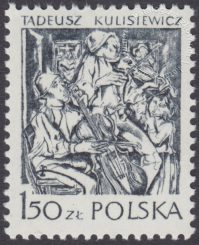 Polska grafika współczesna - 2462