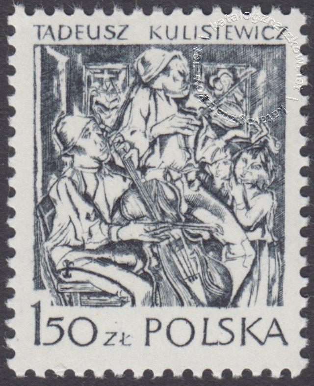 Polska grafika współczesna znaczek nr 2462