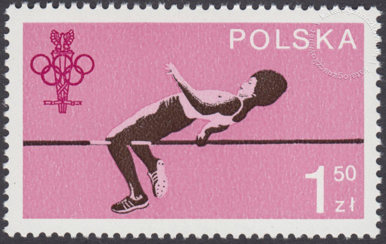 60 lecie Polskiego Komitetu Olimpijskiego znaczek nr 2466