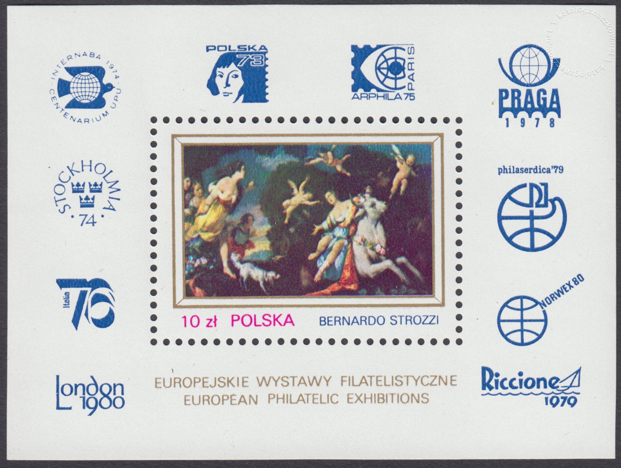 Europejskie Wystawy Filatelistyczne – Blok 64