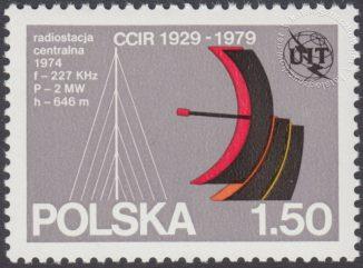 50 lecie Międzynarodowego Doradczego Komitetu Radiokomunikacyjnego - 2499
