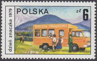 Dzień Znaczka - postęp pocztowy - 2506