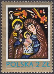 Polskie malarstwo ludowe - 2509