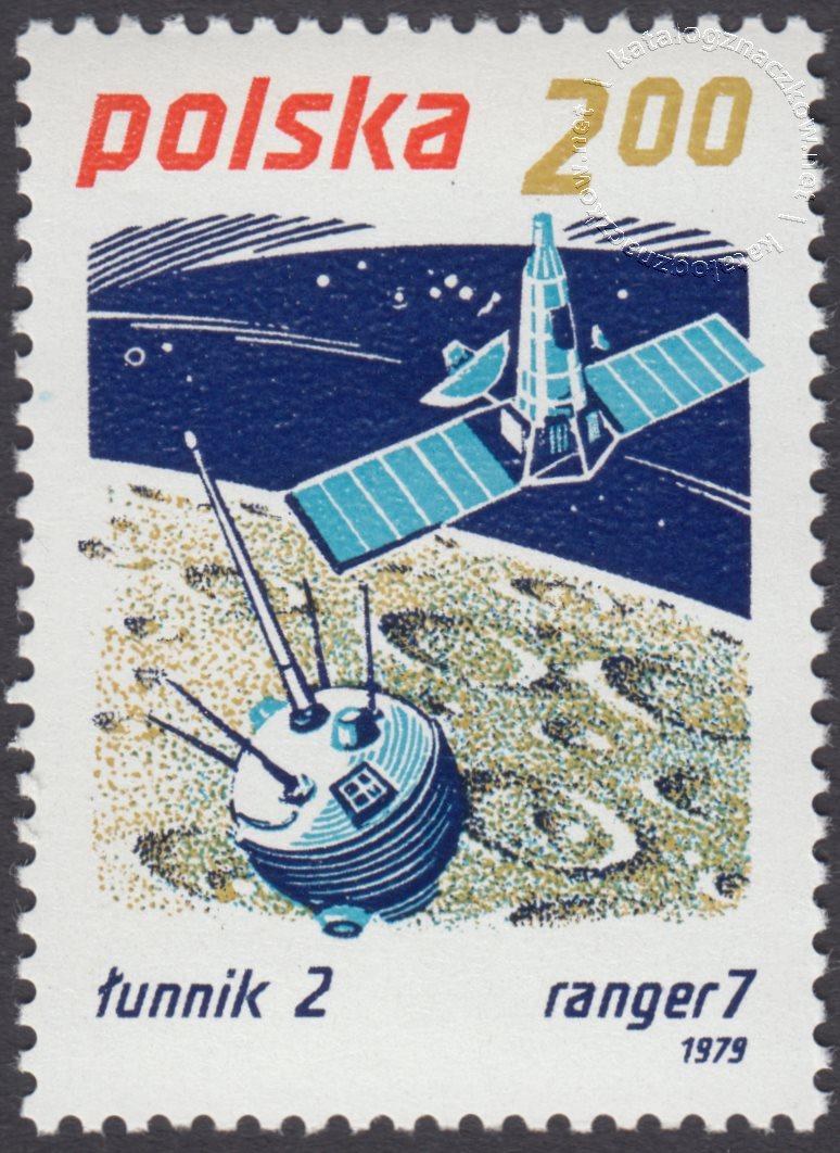 Badanie kosmosu znaczek nr 2513