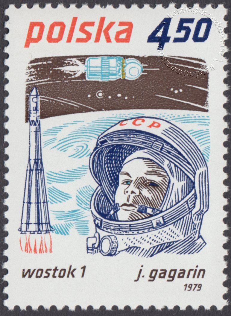 Badanie kosmosu znaczek nr 2514