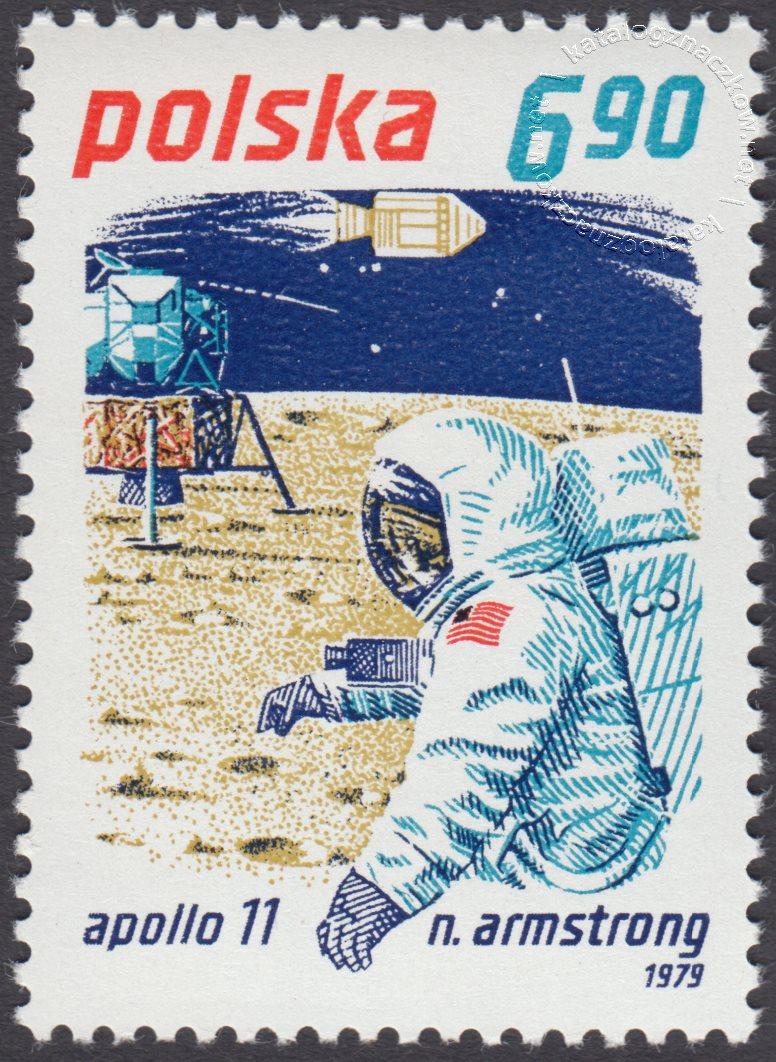 Badanie kosmosu znaczek nr 2515