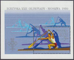 XIII ZIO w Lake Placid i XXII IO w Moskwie - Blok 67