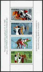 XIII ZIO w Lake Placid i XXII IO w Moskwie - ark. 2526-2529ND