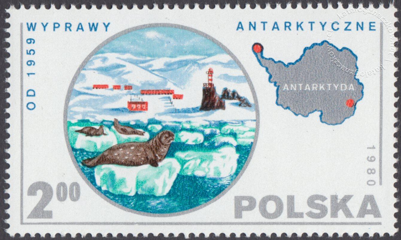Polskie wyprawy naukowe znaczek nr 2538