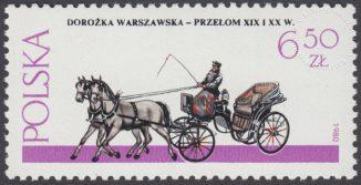 Warszawskie pojazdy konne - 2578