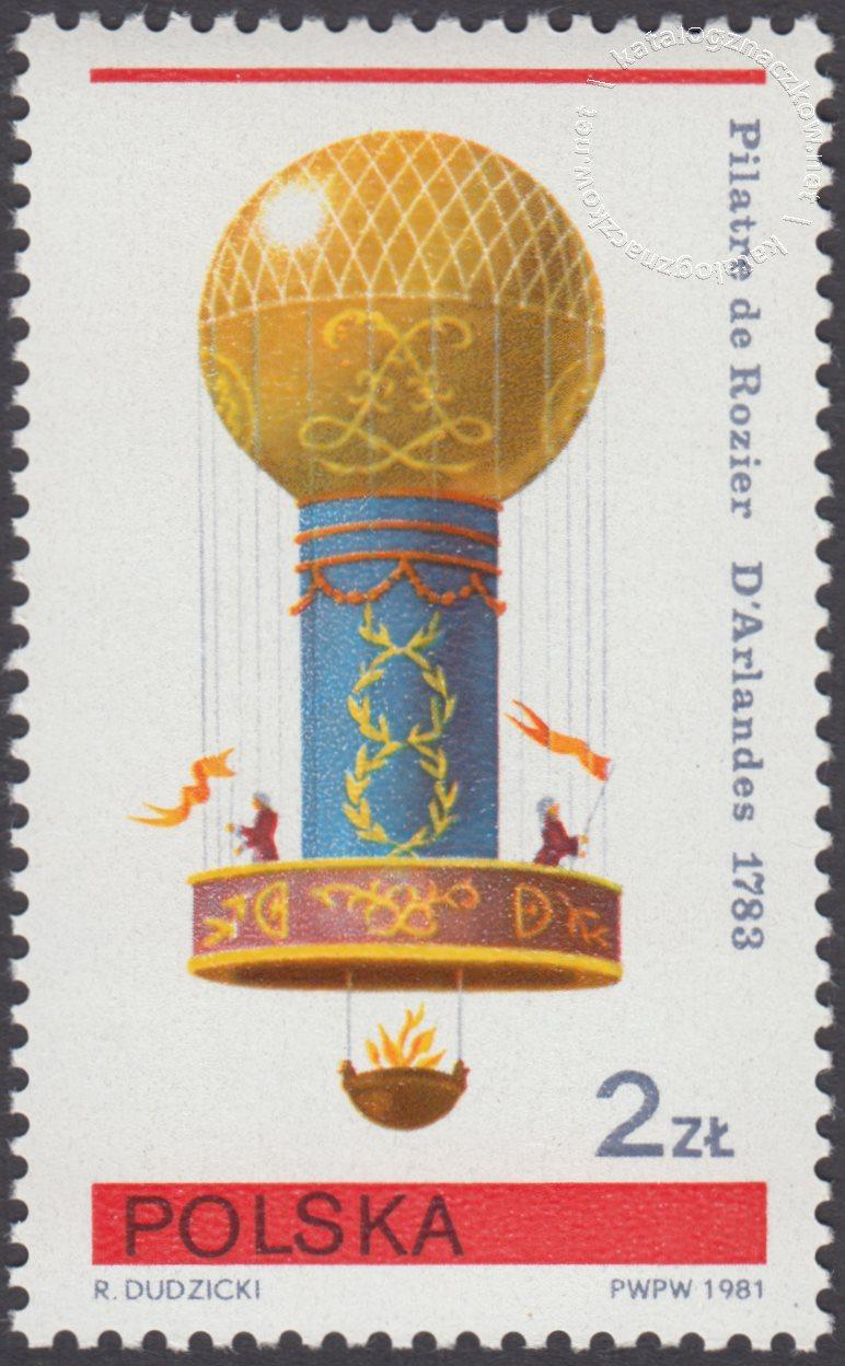 Sport balonowy znaczek nr 2581