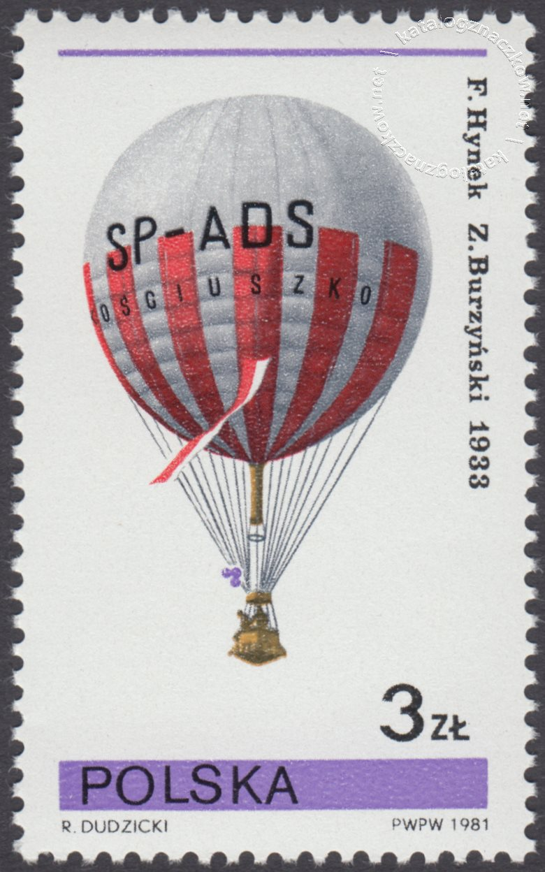 Sport balonowy znaczek nr 2584