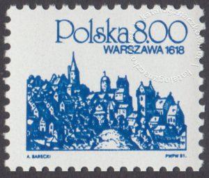Polskie miasta na starych rycinach - 2593