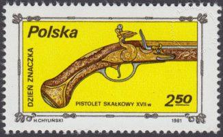 Dzień znaczka - stara broń - 2621