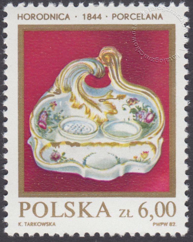 Polska ceramika szlachetna znaczek nr 2648