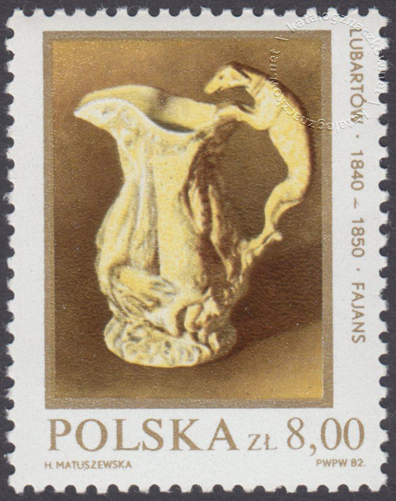 Polska ceramika szlachetna znaczek nr 2649