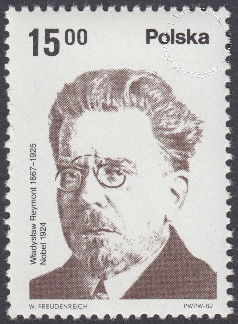 Polscy laureaci Nagrody Nobla znaczek nr 2661