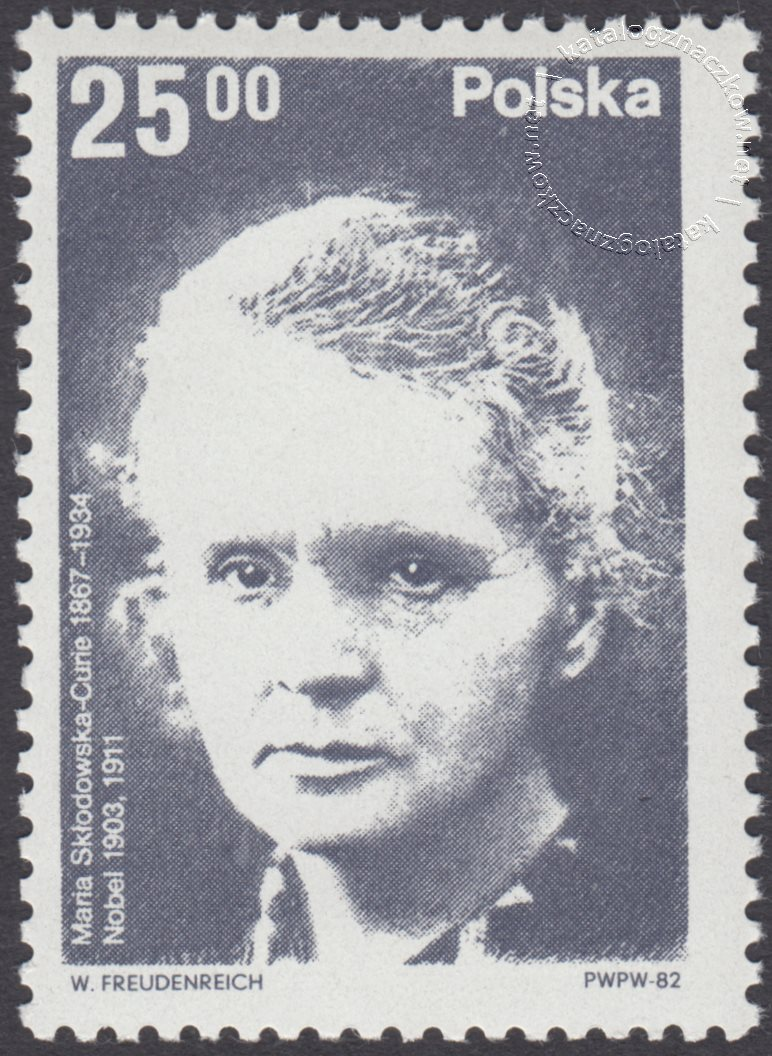 Polscy laureaci Nagrody Nobla znaczek nr 2662