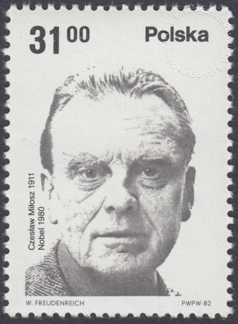 Polscy laureaci Nagrody Nobla znaczek nr 2663