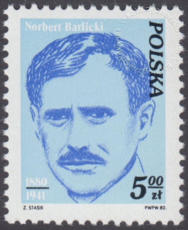 Wybitni działacze polskiego ruchu robotniczego znaczek nr 2674