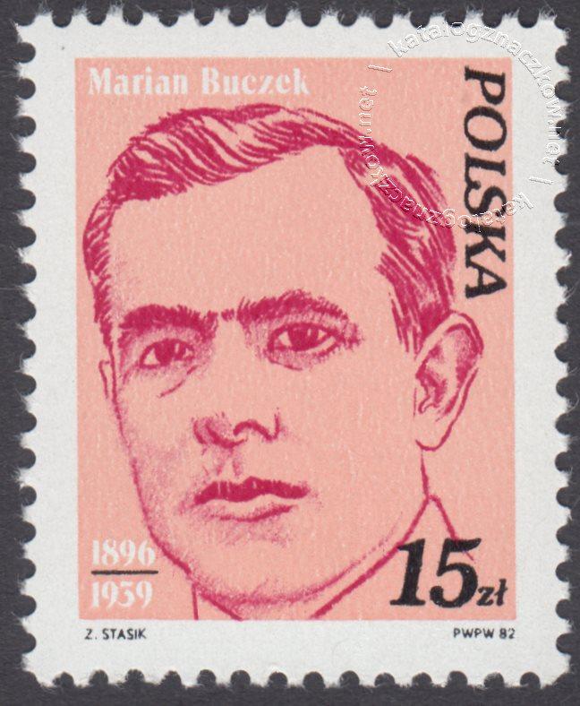 Wybitni działacze polskiego ruchu robotniczego znaczek nr 2676