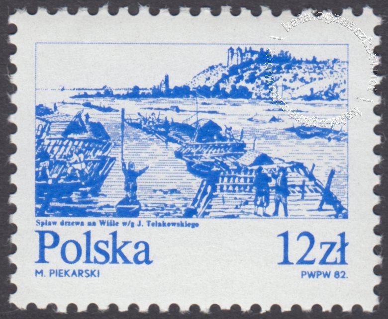 Stare miasta nad Wisłą znaczek nr 2685