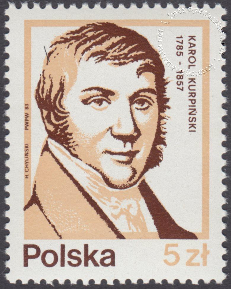 Wybitni Polacy znaczek nr 2708