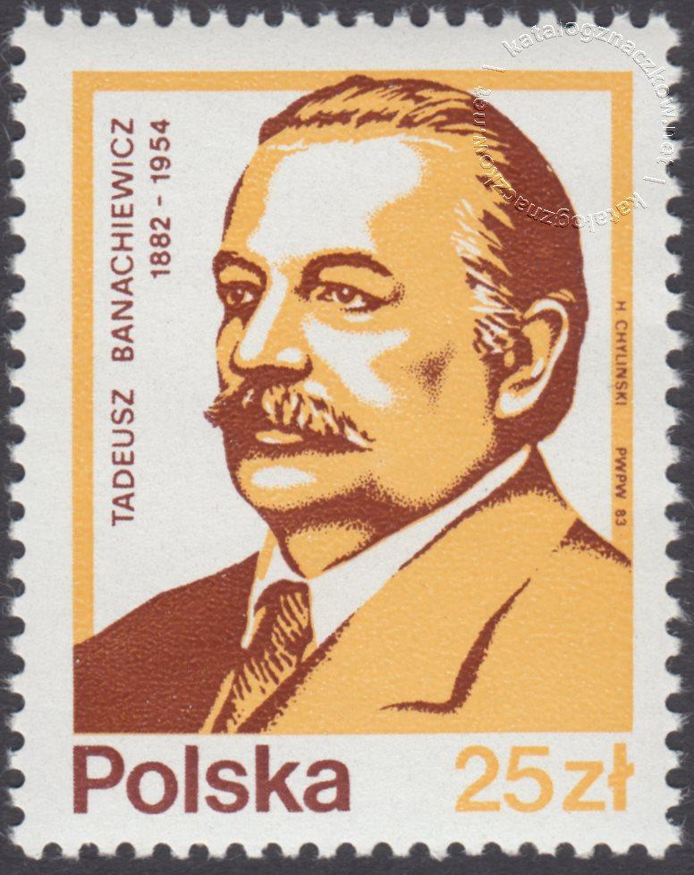 Wybitni Polacy znaczek nr 2711