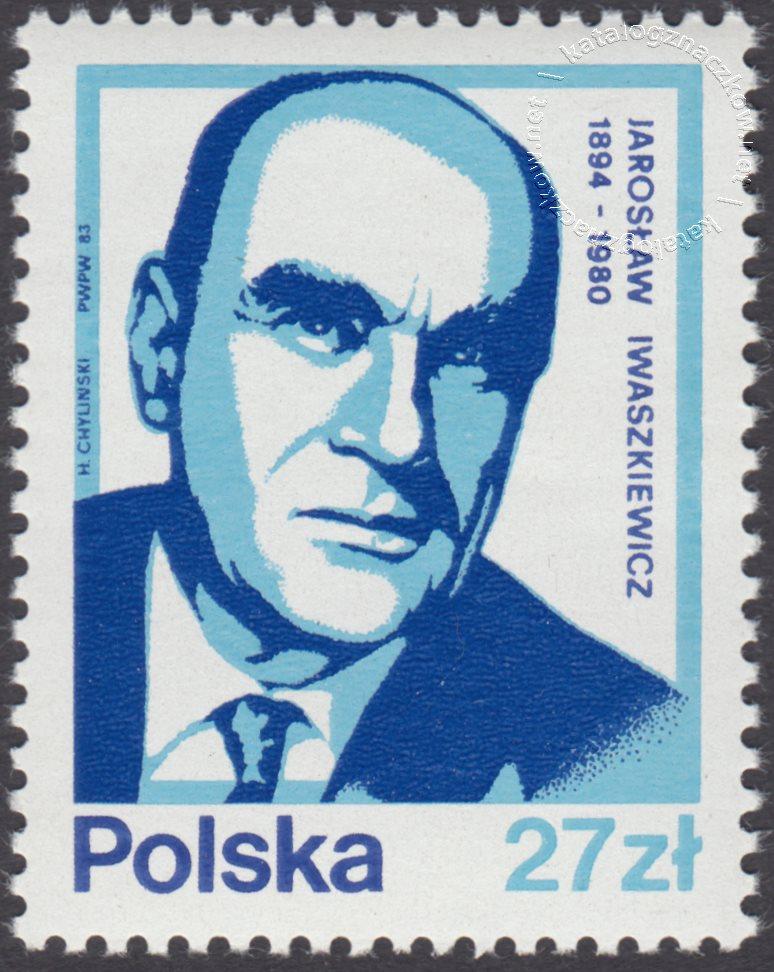 Wybitni Polacy znaczek nr 2712