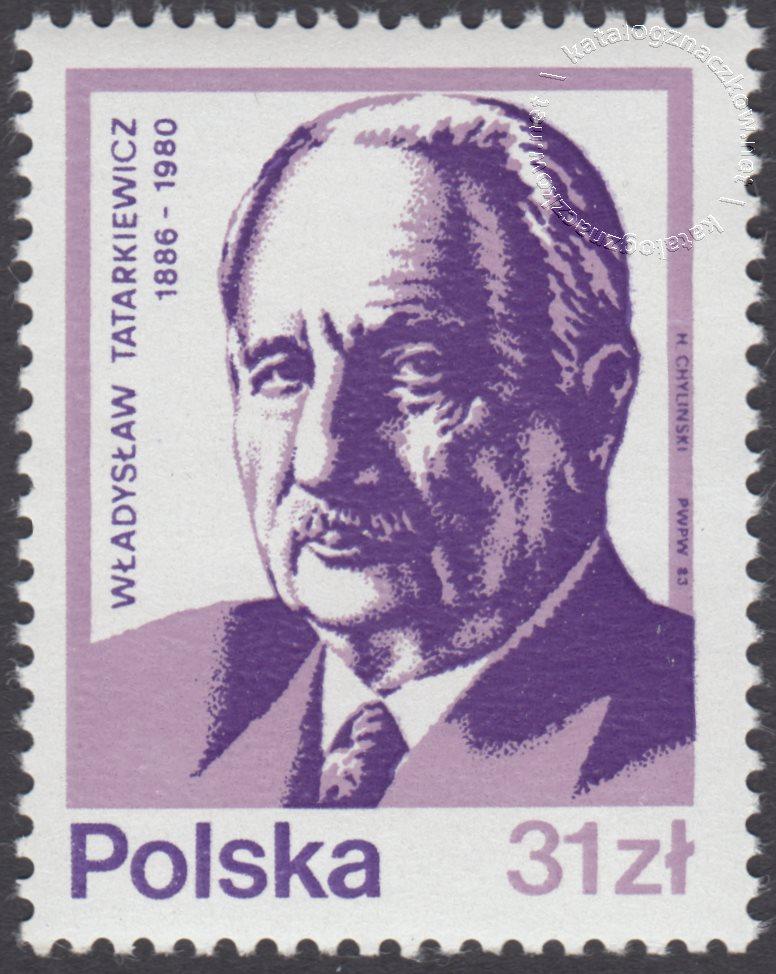 Wybitni Polacy znaczek nr 2713