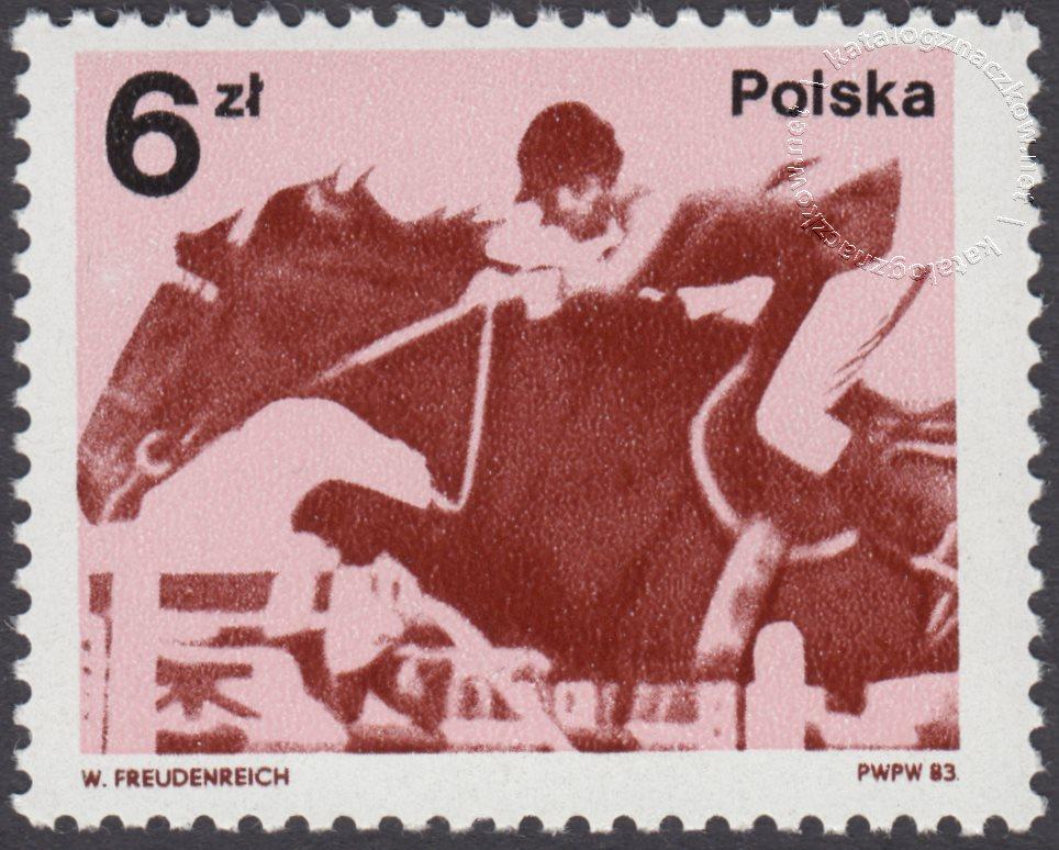 Medale Polaków na IO w Moskwie i na MŚ w piłce nożnej znaczek nr 2715