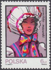 Kobiece stroje ludowe - 2745