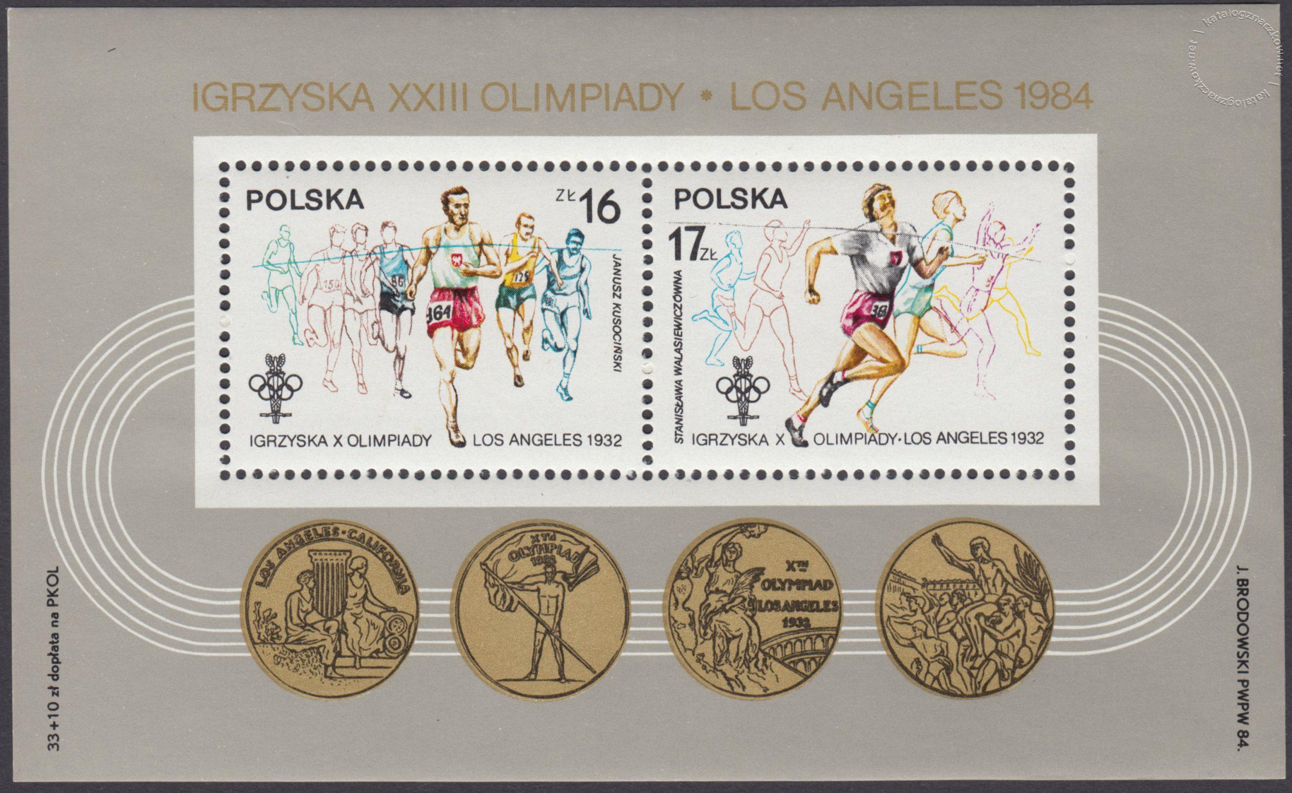 XIV ZIOl w Sarajewie i XXIII IOl w Los Angeles – Blok 80