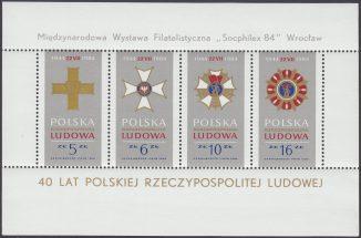 Międzynarodowa Wystawa Filatelistyczna we Wrocławiu - Blok 81