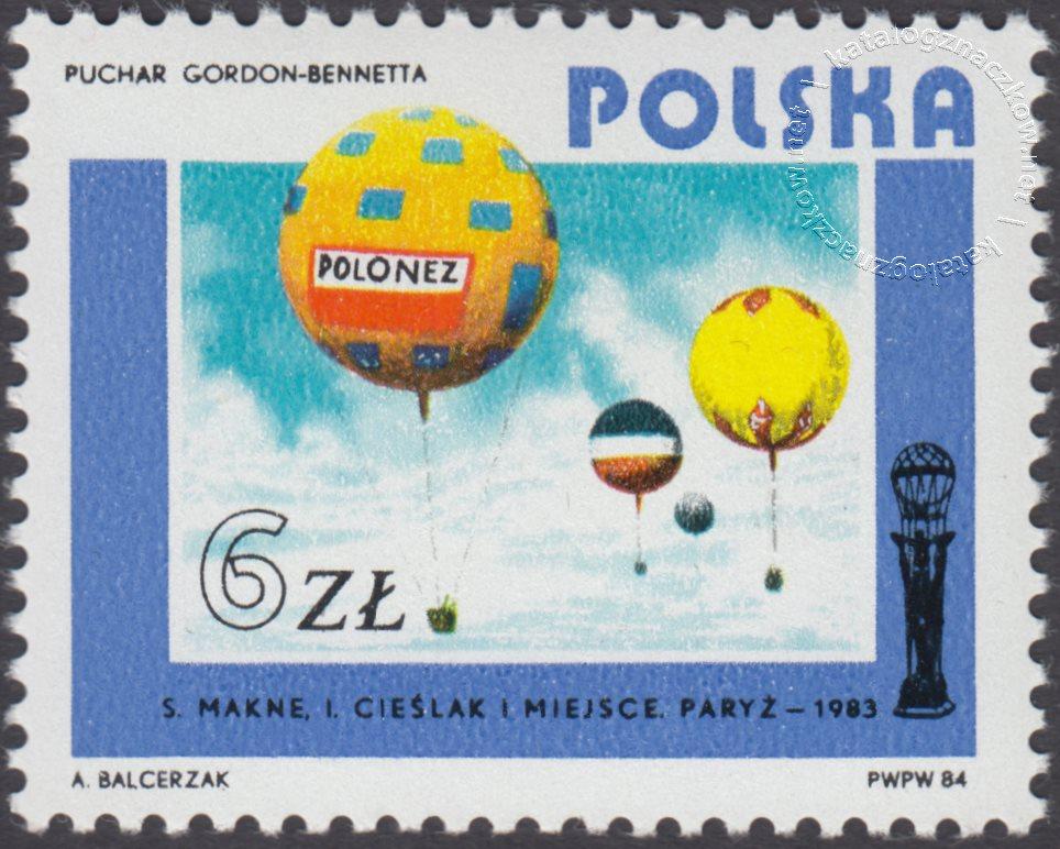 Rozwój lotnictwa polskiego znaczek nr 2793