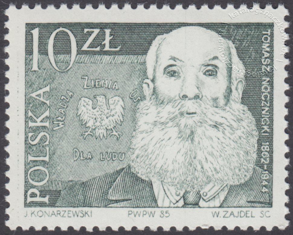 Przywódcy ruchu ludowego znaczek nr 2840
