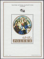 Światowa Wystawa Filatelistyczna Italia 85 - Blok 82I
