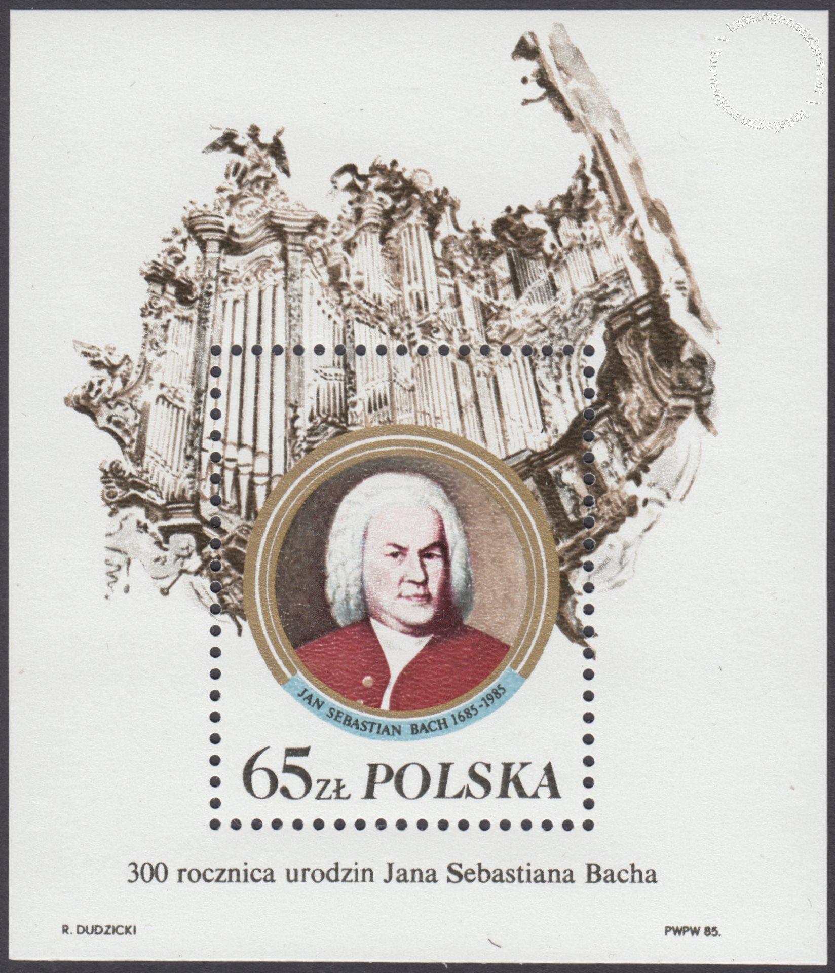 300 rocznica urodzin Jana Sebastiana Bacha – Blok 83II