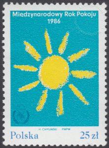 Międzynarodowy Rok Pokoju - 2868