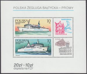 Polska Żegluga Bałtycka - promy - Blok 84