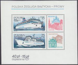 Polska Żegluga Bałtycka - promy - Blok 85