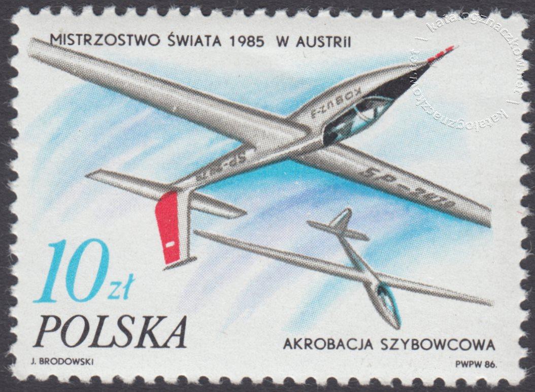 Sukcesy polskich sportowców znaczek nr 2896