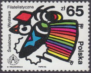 Światowa Wystawa Filatelistyczna Stockholmia 86 - 2900