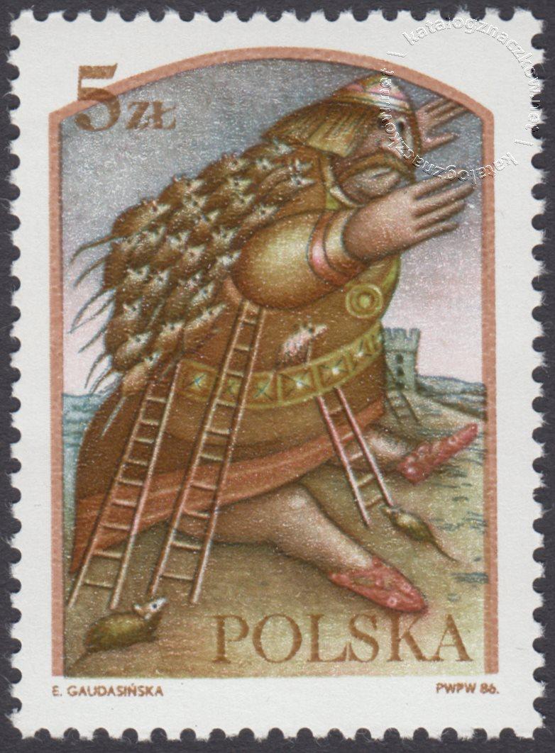 Legendy polskie znaczek nr 2905