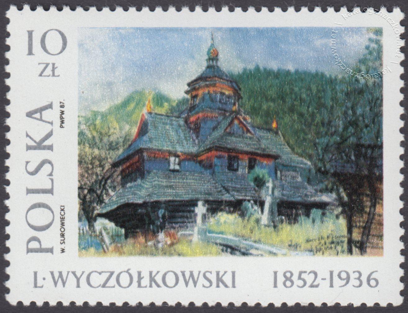 Malarstwo polskie – Leon Wyczółkowski znaczek nr 2935