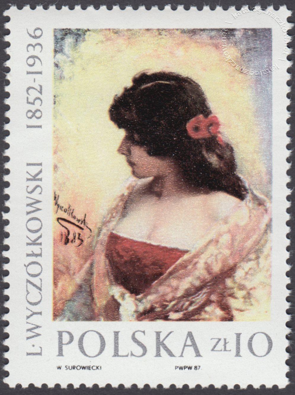 Malarstwo polskie – Leon Wyczółkowski znaczek nr 2936