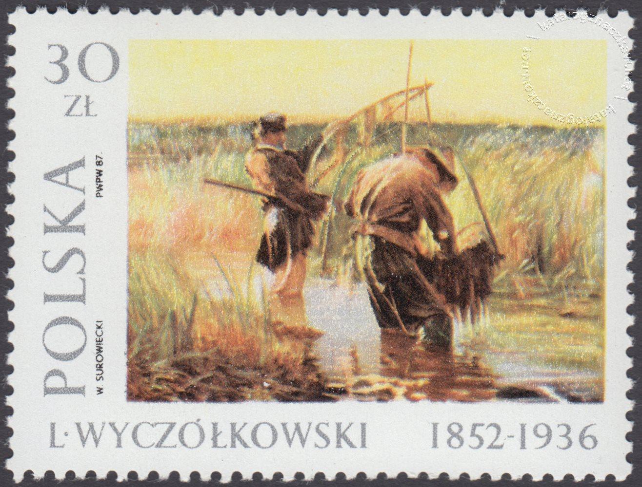 Malarstwo polskie – Leon Wyczółkowski znaczek nr 2938